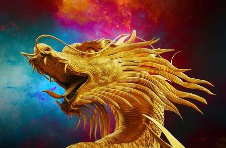Dragão dourado