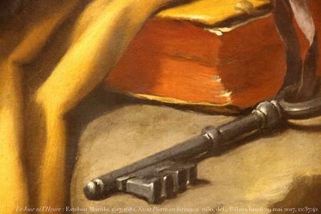 fragmento de um quadro da entrega das chaves a S. Pedro