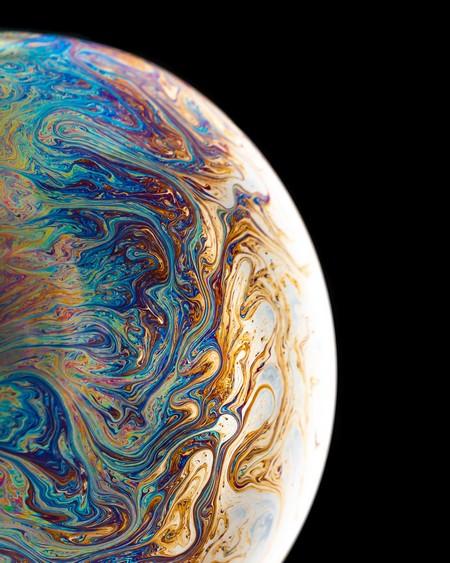 planeta misterioso, colorido