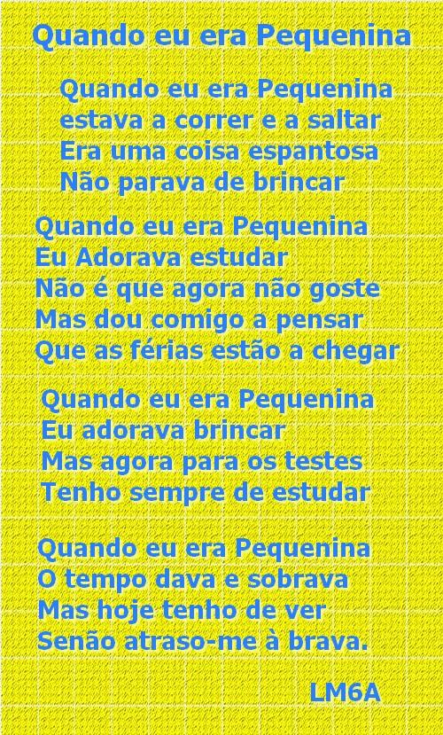Poema da Letícia