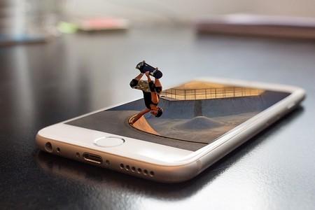skating sobre iphone