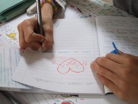 A prática de recordar, aqui com suporte escrito