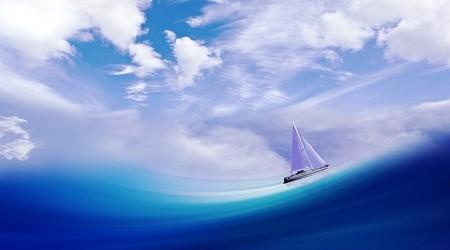 vaga e veleiro