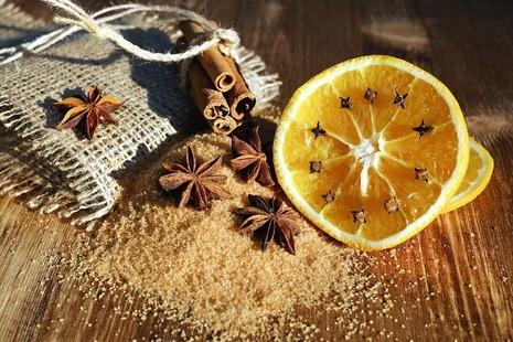 canela e limão