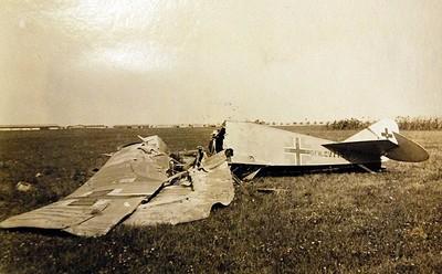 avião derrubado