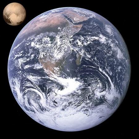 Terra e plutão