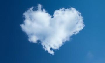 nuve coração