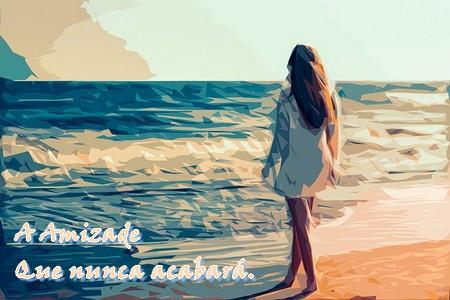 jovem á beira-mar