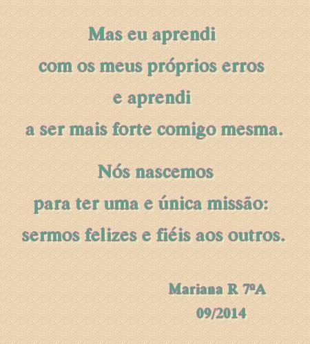 poesia da mariana - 2