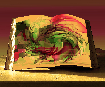 book abstract peinture